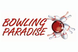 bowling paradise logo