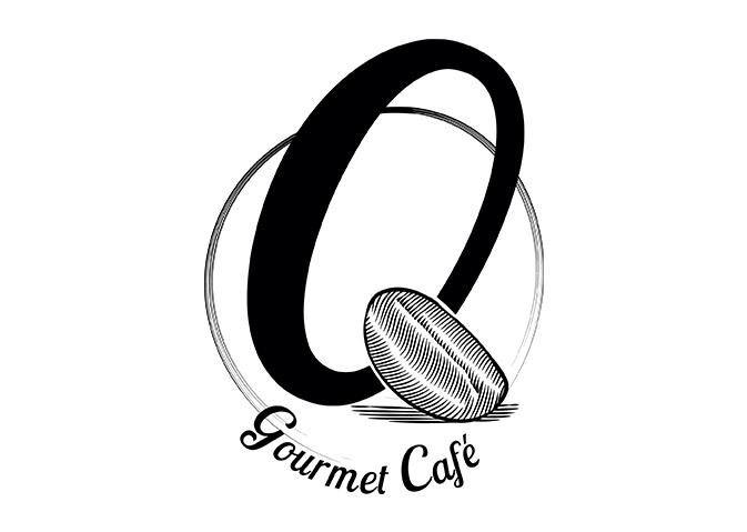logo gourmet café